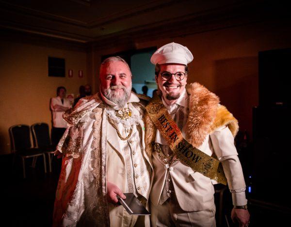 Russ Vickery and Matt Parsons. Photo by Bryony Jackson.