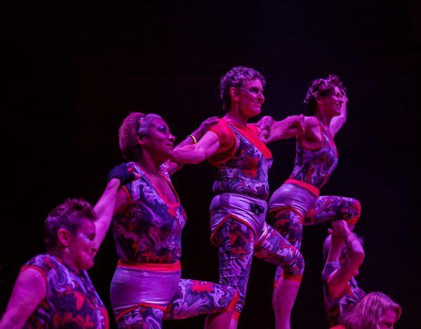 POW Circus. Photo by Bryony Jackson.