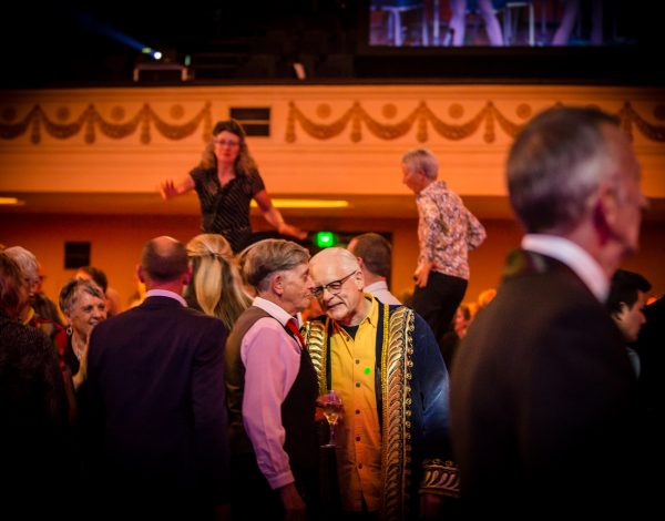 Guests at The Coming Back Out Ball. Photo by Bryony Jackson.