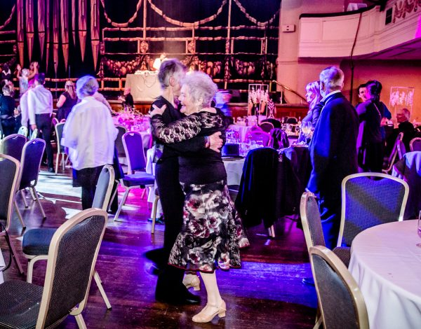 Dancing at The Coming Back Out Ball. Photo by Bryony Jackson.