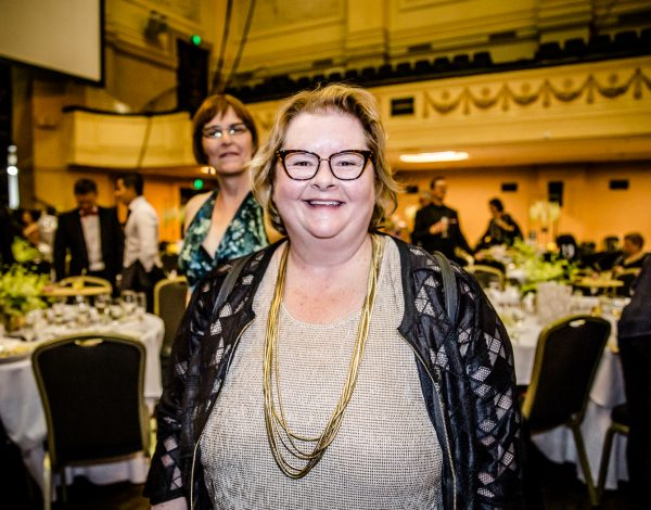 Magda Szubanski at The Coming Back Out Ball. Photo by Bryony Jackson.