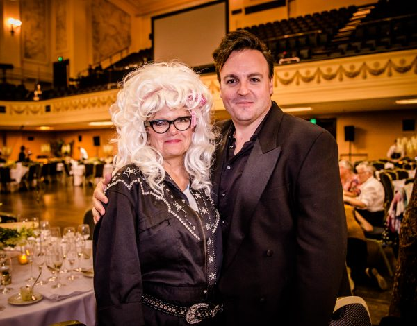 Tammy Whynot with our incomparable Event Director Cameron Menzies.