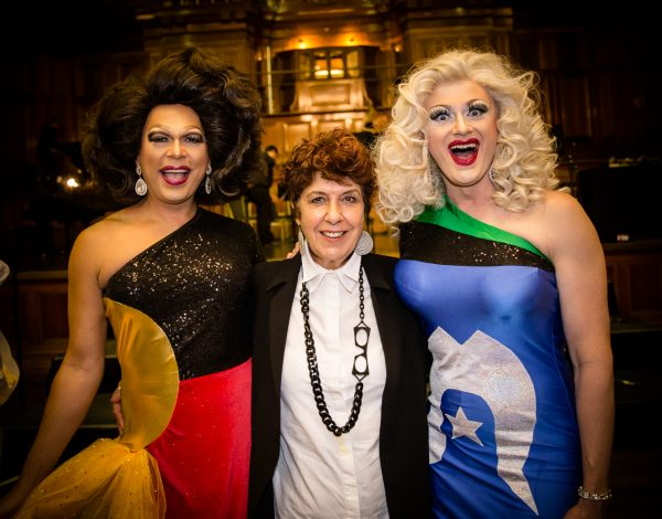 Miss Ellaneous, Aunty Carolyn Briggs and Marzi Panne. Photo by Bryony Jackson.