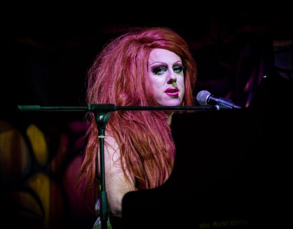 Our international guest Kimberly Clark performing. Photo by Bryony Jackson.