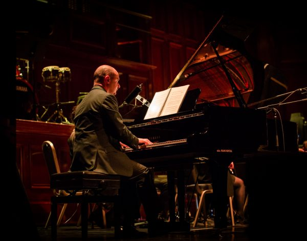 Pianist Justin Jacobs. Photo by Bryony Jackson.