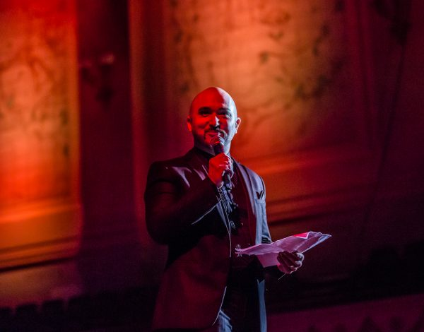 Tristan Meecham at The Coming Back Out Ball. Photo by Bryony Jackson.