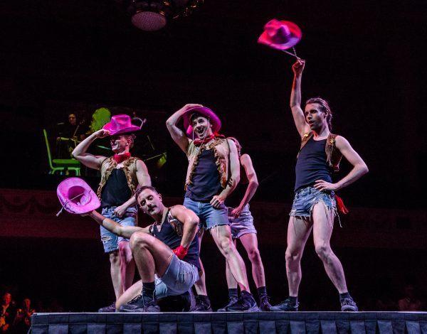 Tammy Whynot's dancers. Photo by Bryony Jackson.