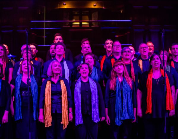 Melbourne Lesbian and Gay Chorus. Photo by Bryony Jackson.