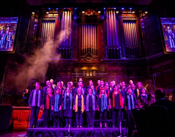 The Melbourne Lesbian and Gay Chorus. Photo by Bryony Jackson.