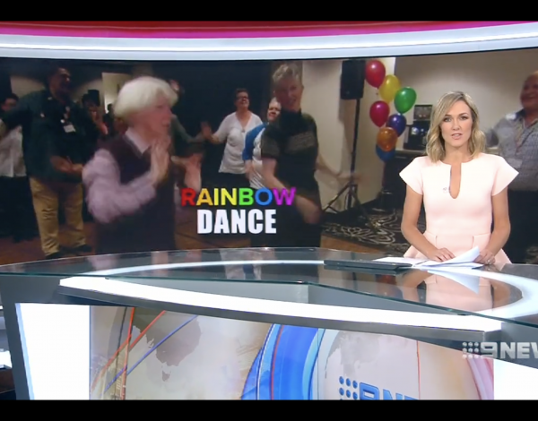 Channel 9 News – LGBTI Elders Dance Club